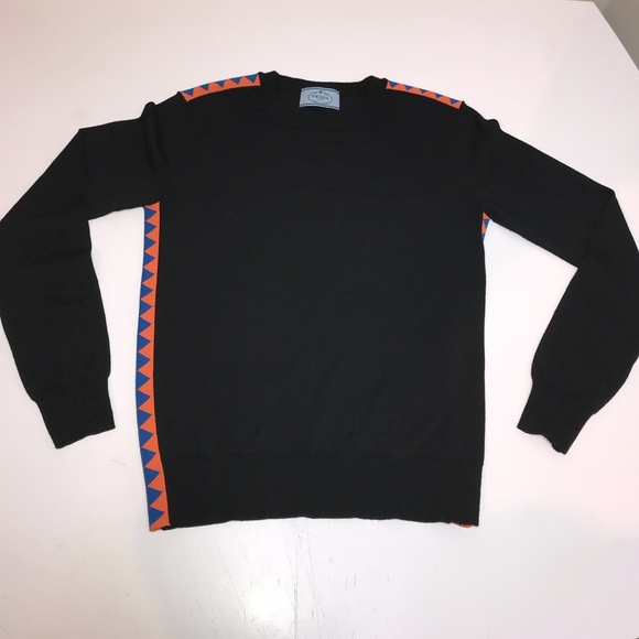 17a3faf8a389 Prada Sweaters | Milano Long Sleeve Shirt Womens Small 38 | Poshmark